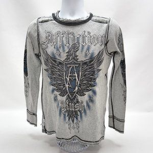 Affliction Reversible LS Mens Thermal Thirt